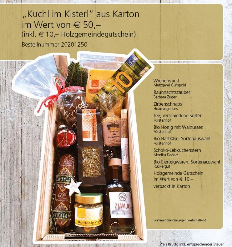 "Geschenkidee ""Kuchl im Kisterl"""