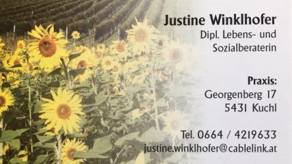 Winklhofer Justine -  Lebens- und Sozialberaterin