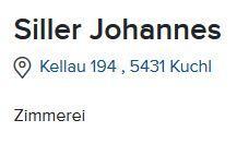 Zimmerei Johannes Siller