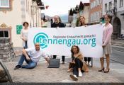 Bericht über tennengau.org im Bezirksblatt